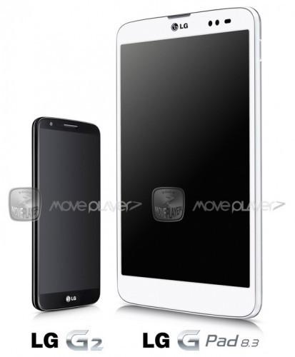 LG G Pad 8.3, se filtra una imagen oficial del nuevo tablet de LG