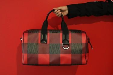 La elegancia a cuadros: bolso marinero de Dior Homme