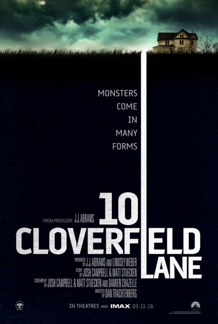Cartel de 10 Cloverfield Lane