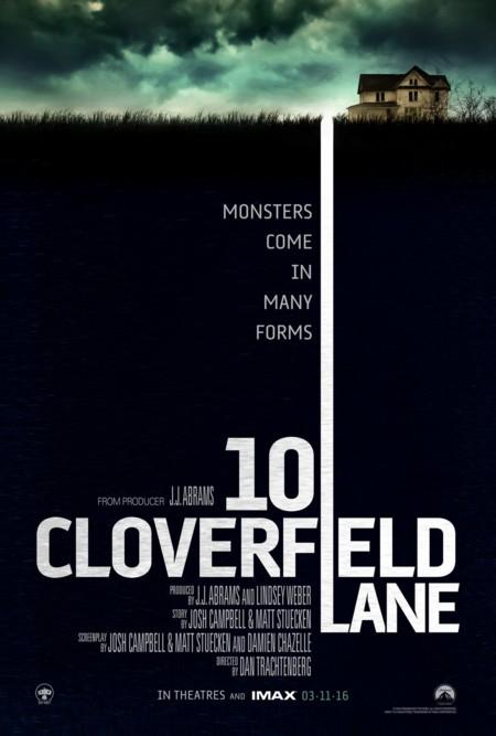 Cartel de 10 Cloverfield Lane
