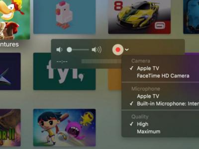 Cómo tomar capturas de pantalla y grabar videos con el nuevo Apple TV