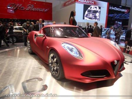 Alfa Romeo 4C, un auténtico deportivo para 2012