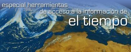 Herramientas de acceso a la información meteorológica