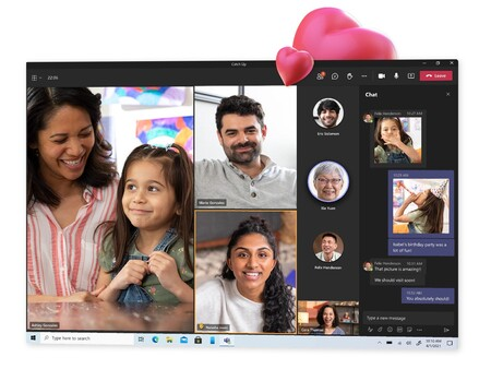 Microsoft Teams para uso personal con amigos y familia ya está disponible: chats y videollamadas gratis para todos