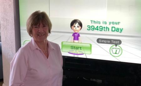 Esta entrañable señora ha jugado todos los días a Wii Fit durante diez años