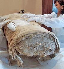 La Señora de Cao: una momia peruana
