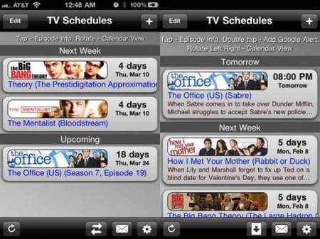 TV Schedules