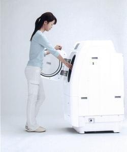 Lavadora Sanyo que elimina también los olores
