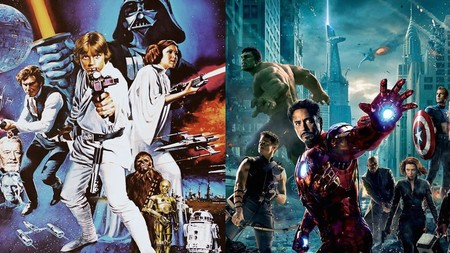 Star Wars y Marvel