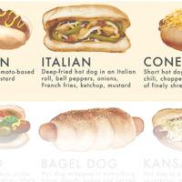 ¿Cómo son los hot dogs alrededor del mundo? Infografía