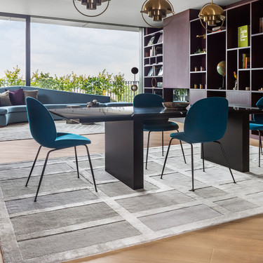 Nuevos diseño de alfombras  inspiradas en los metales preciosos