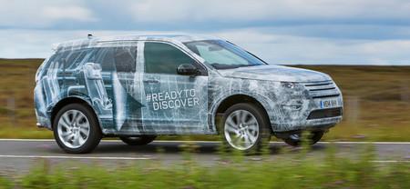 Land Rover Discovery Sport, a la vista