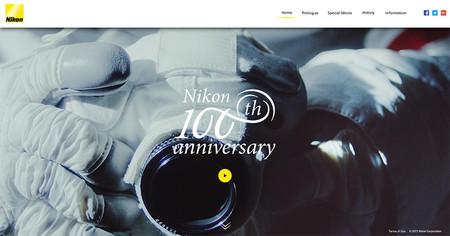 Nikon va a cumplir 100 años y empieza a celebrarlo con una web, vídeo y logo commemorativos