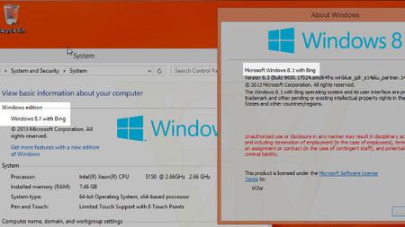 """Se filtra una nueva build de Windows 8.1 Update 1 con la coletilla """"with Bing"""" en su nombre"""