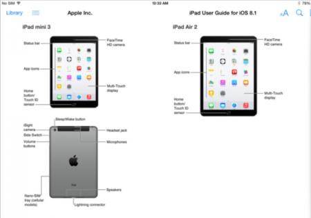 iPad Air 2 y iPad Mini 3 asoman la patita antes de tiempo