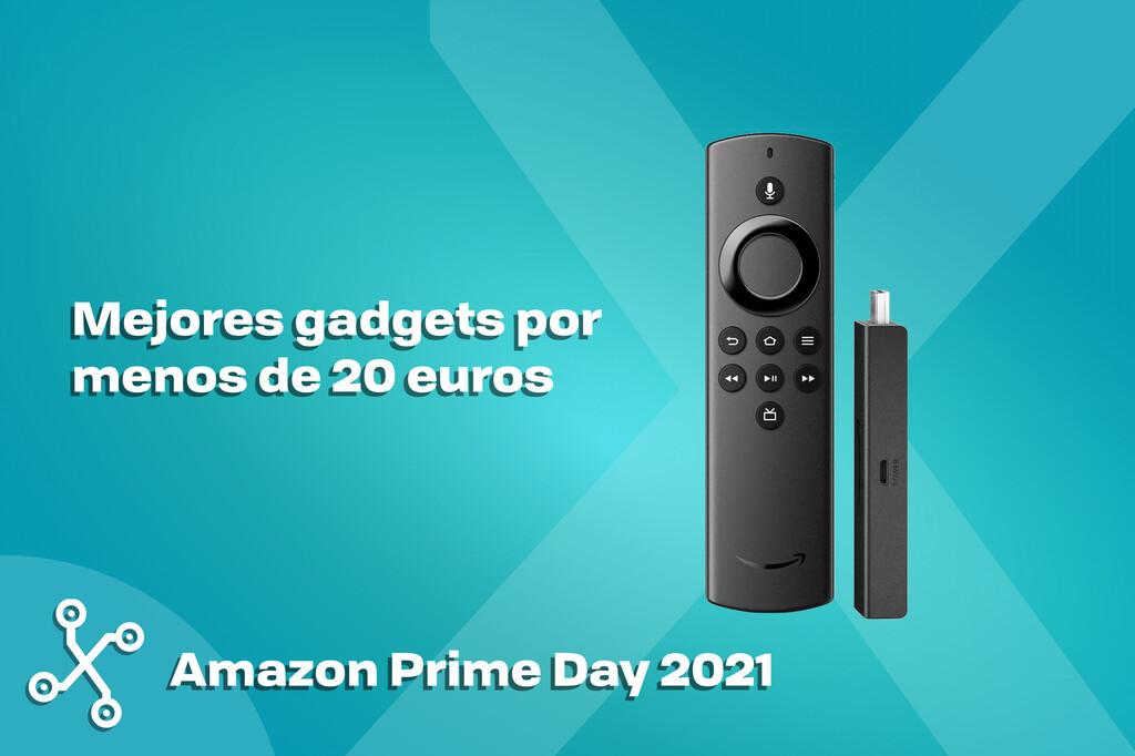 Amazon Prime Day: los mejores gadgets en oferta por menos de 20 euros