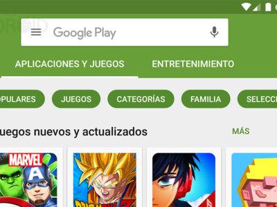 Google Play Store 6.2 mejora las recomendaciones con los itinerarios de Gmail