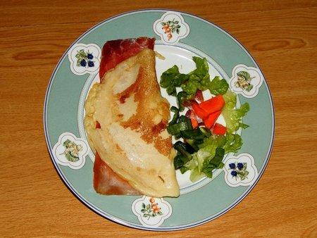 Receta de crepes con leche semidesnatada sin lactosa