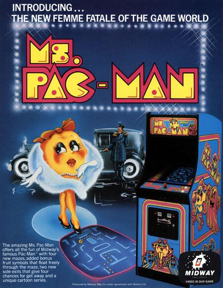 Ms Pac Man Arcade Flyer