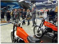 Las Bultaco y Montesa de trial históricas en el metro de Madrid