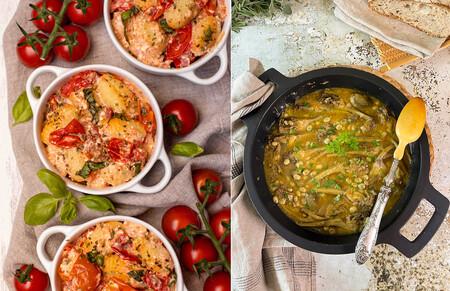 15 recetas fáciles para comer y cenar bien a diario (con muchas verduras) en el paseo por la gastronomía de la red