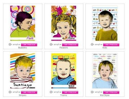 Novapop Kids, los peques protagonistas de cuadros pop