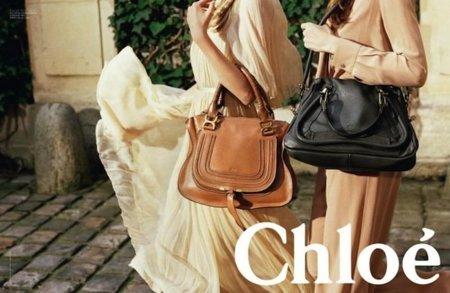 Chloé Bags Campaña Colección Crucero 2012: morimos por estos bolsos (y por estas melenas y vestidos)