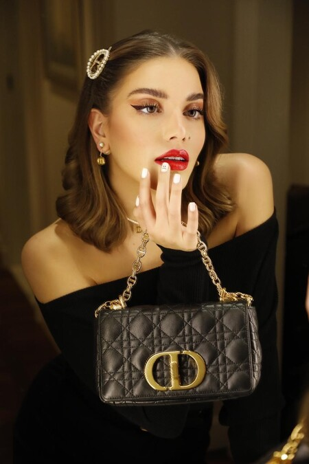 Stars In Dior Caro Bag Cynthia Samuel