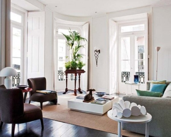 Estilo moderno y antig edades en un apartamento de lisboa for Decoracion del hogar contemporaneo
