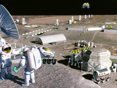 Una ciudad lunar: la idea con la que Europa y China quieren unir sus carreras espaciales