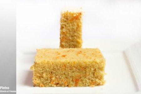 Cake de zanahorias y canela. Receta