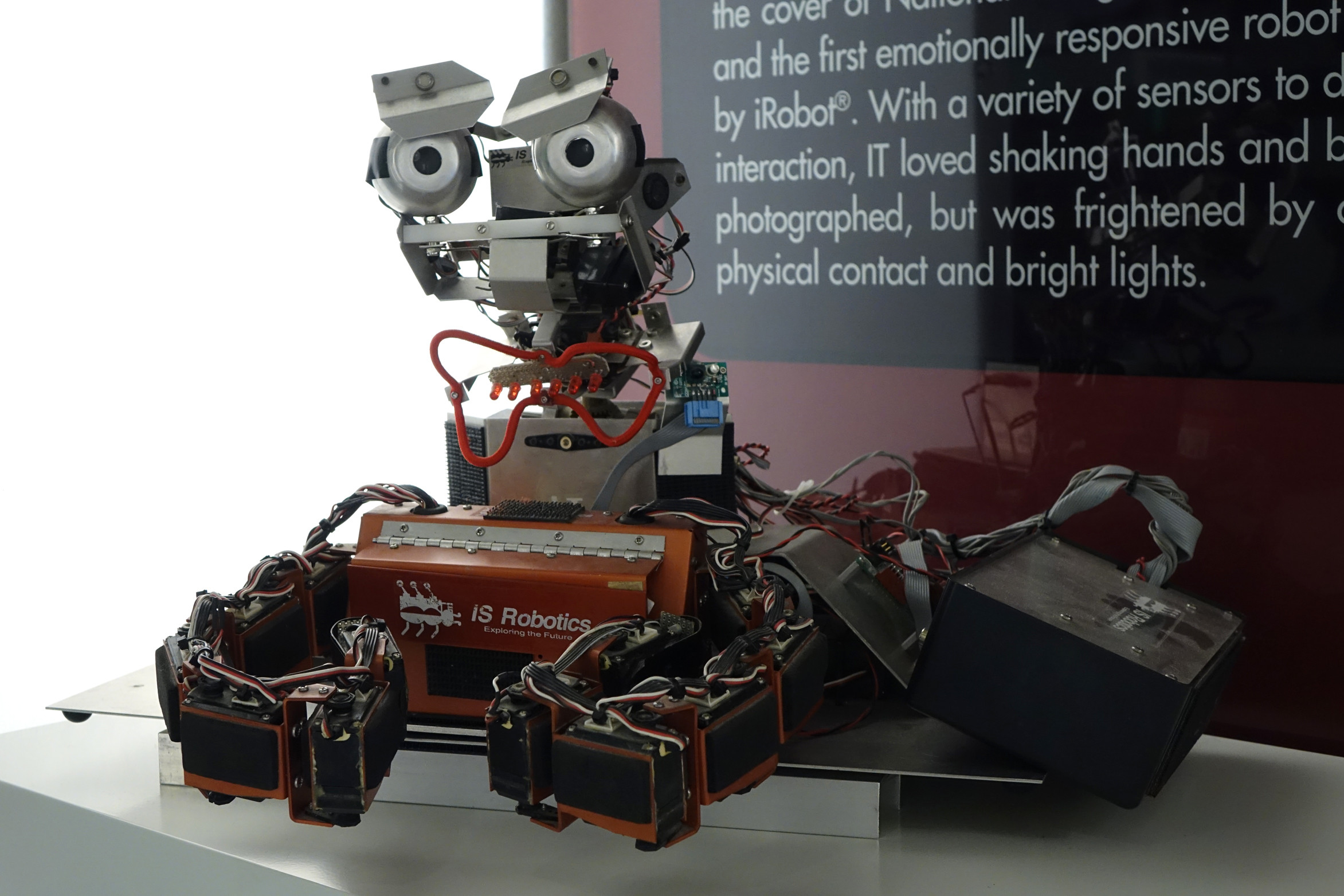 Museo de iRobot en sus oficinas centrales