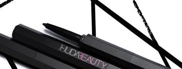 Huda Beauty nos escucha y lanza el eyeliner definitivo para un delineado a medida