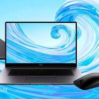 Viaja ligero estas vacaciones con el ultrabook MateBook D15. Lo tienes por 100 euros menos con ratón de regalo en la web de Huawei