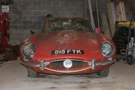 Se han pagado 75.000 euros por este Jaguar E-Type en este estado