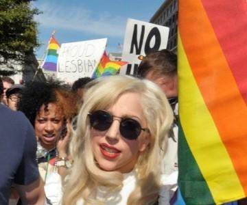 Lady GaGa, firme defensora de los derechos homosexuales