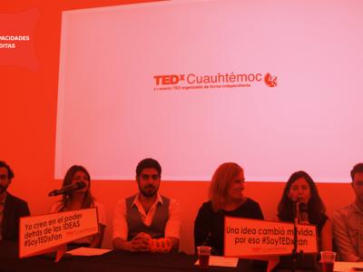 TEDxCuauhtémoc: Capacidades Inéditas, se celebrará el 4 de septiembre en Ciudad de México