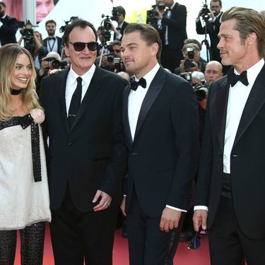 La premiere de 'Once Upon a Time in Hollywood' nos deja una de las alfombras rojas más espectaculares del Festival de Cannes 2019