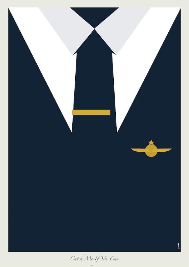 Las corbatas de Dicaprio en ilustraciones