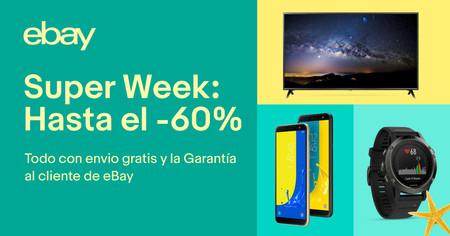 Las 14 mejores ofertas en el Super Week de eBay: desde el iPad hasta el patinete de Xiaomi