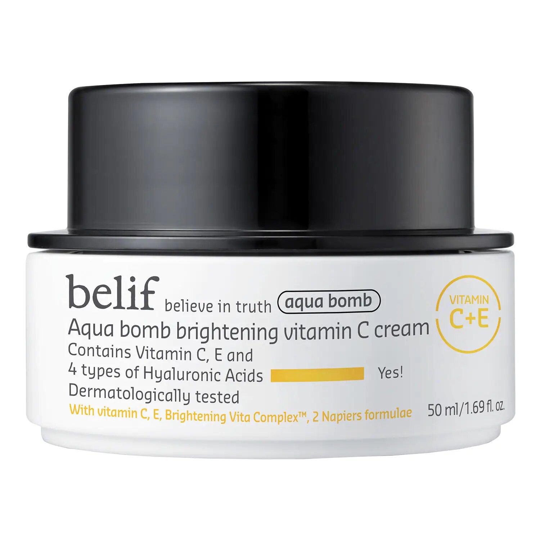 Aqua bomb brightening vitamin C cream Belif