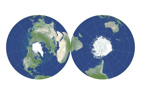 Llevamos siglos buscando el mapamundi perfecto. La solución era tan sencilla como hacer dos