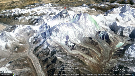 Everest Google Earth
