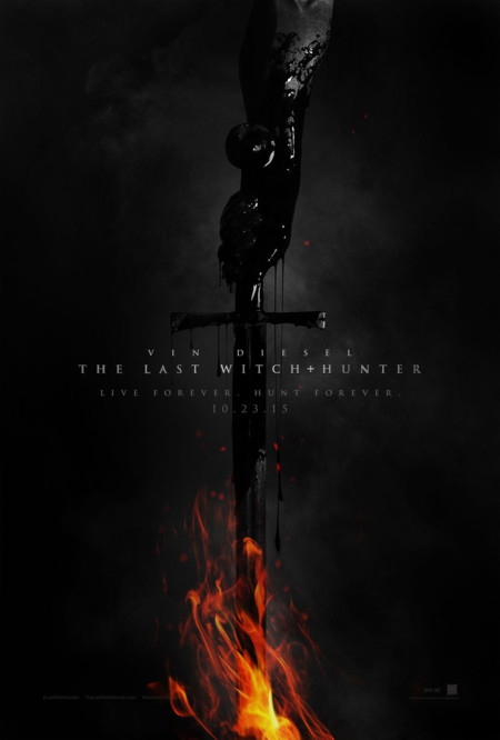 Cartel de The Last Witch Hunter
