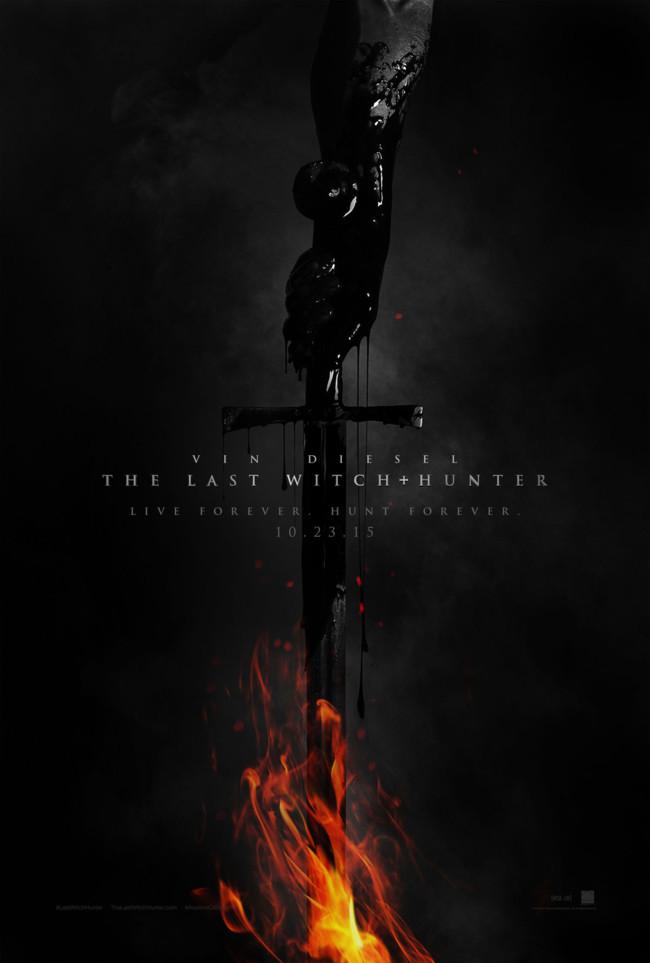 Cartel de The Last Witch Hunter