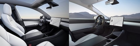 Tesla Model Interior