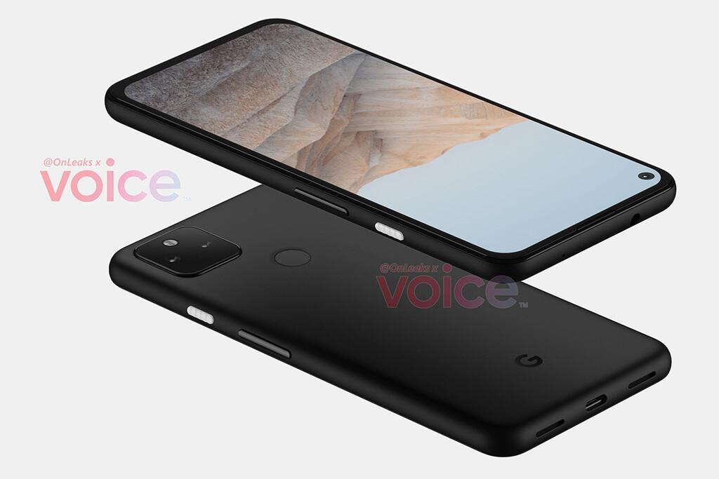Este será el boceto del Google™ Pixel 5a, según OnLeaks