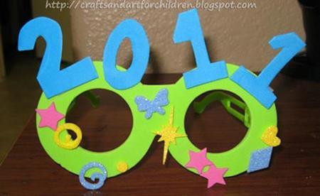 gafas fin de año diy