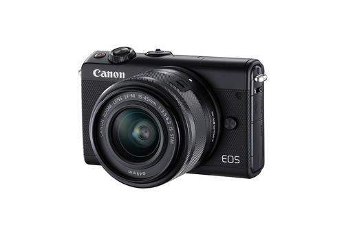 Canon presenta su nueva sin espejo EOS M100, cuatro nuevos objetivos y un flash macro