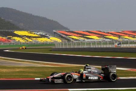 GP de Corea del Sur de Fórmula 1: Hispania Racing Team ocupará la última fila de la parrilla de salida